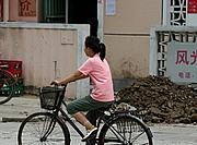 Young Girl on a Bicycle, Shanghai