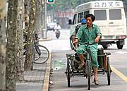 Bicycle Cart, Shanghai, China