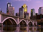 Minneapolis Skyline and Bridge