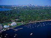 Aerial View of Lake Harriet, Minneapolis