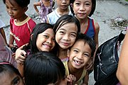 Elementary School Children in the Philippines