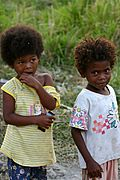 Aeta Children in Pampanga, the Philippines