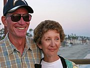 Couple on the Oceanside Pier