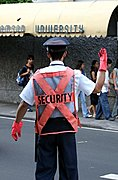 Crossing Guard in Manila
