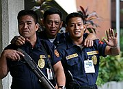 Armed Security Guards, Manila, The Philippines