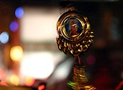 Taxi Driver's Catholic Medallion