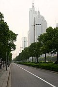 Parkway in Pudong New Area, Shanghai