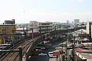 Light Rail Tracks in Pasay City, Manila