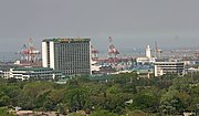 Manila Harbor and Manila Hotel