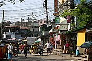Street in the Tatalon Neighborhood, Quezon City, Manila