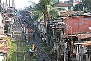 Train Tracks and Squatters, Manila