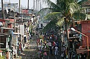Shanties Along Train Tracks, Manila, the Philippines