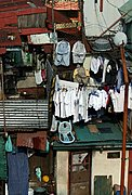 Close-up of Shanties, Manila, the Philippines