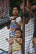 Boys Behind Wire Cage, Manila