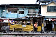Store Along Train Tracks, Manila