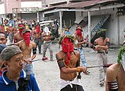 Catholic Penitents During Holy Week, the Philippines