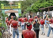 Catholic Penitents in Angeles City, the Philippines