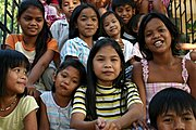 Young Kids at a Party, the Philippines