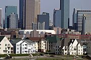 Westside Homes and Downtown Minneapolis