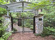 Gates to the Eloise Butler Wildflower Garden