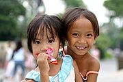 Two Filipino Children