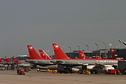 Northwest Airlines Flights at the Gate