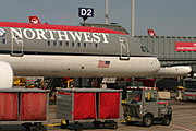 Northwest Flight at the Gate
