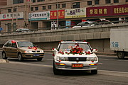 Wedding Procession by Car, Beijing, China