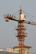 Construction Crane, Guilin, PRC