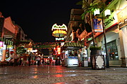 Pedestrian Mall at Night, Guilin, China