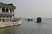 Marble Boat, Lake at the Summer Palace, Beijing