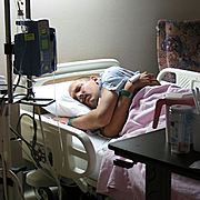 Marc in the Hospital in a Coma