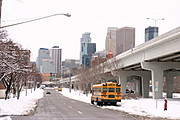 Minneapolis Skyline in Winter