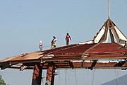 Men Working on the Roof of the Salukot