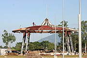 Picture of the First Stages of Construction of the Bayanihan Park in Clark, Pampanga