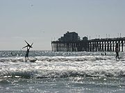 Tandem Surfing Competition, Oceanside