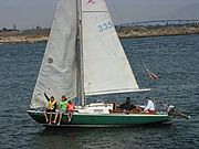 Family Sailing in San Diego Bay