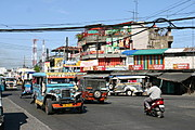 Busy Street in the Philippines (Angeles City, Pampanga)