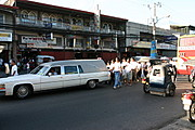 Funeral Procession in Angeles City, Pampanga, the Philippines