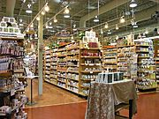Supplement Aisles at Whole Foods Market