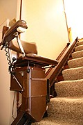 In-Home Stair Lift (for the Elderly or Disabled)