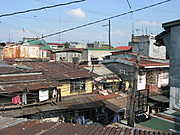Chain of Houses in One of the Localities in Manila Area