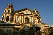 The Towering Basilica of Black Nazarene in Quiapo, Manila
