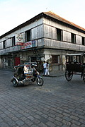 The Tricycle and the Caleza in the old city of Vigan, Ilocos Sur