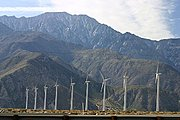 Wind Generators in the Coachella Valley, California