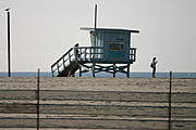 Lifeguard Station on Venice Beach, Los Angeles