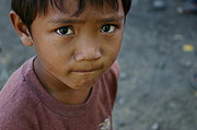Young Ilocano Boy with Curious Expression