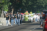 Funeral March on the Road to Baguio, Philippines