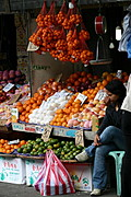 A Variety of Delicious Fruits Sold at Baguio Public Market in Baguio City, Philippines