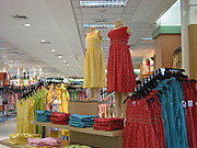 Colorful Clothes in SM City Baguio